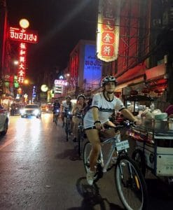 Bangkok Cycling Tour - Night Ride - Chinatown