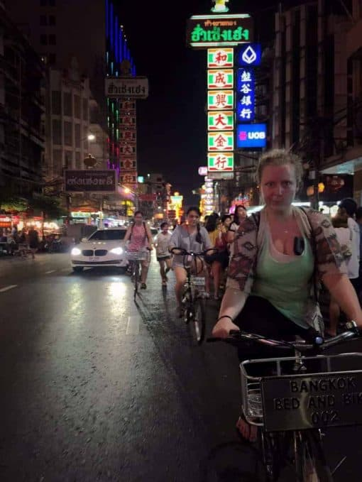 Bangkok Bike Tour - Chinatown