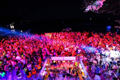 Full Moon Party, Koh Phangan.