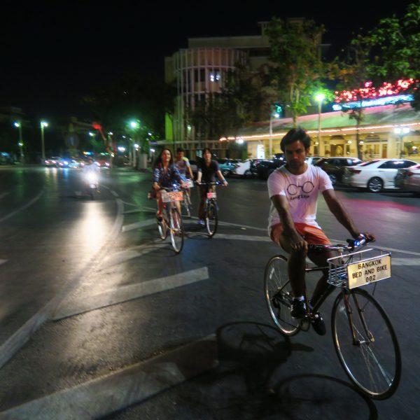 Bangkok Cycling Tour - Night Ride