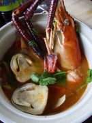 Lobster soup Thai Style!