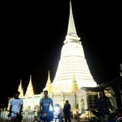 Bangkok Temple Night Bike Tour