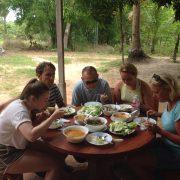 Off the beaten path cycling tour Siem Reap