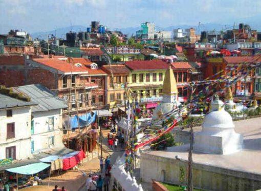 Bodnah Stupa, Kathmandu, Nepal