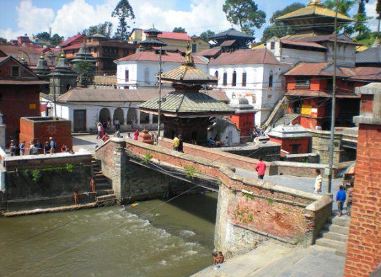 PashupatinathTemple, Bagmati River, Kathmandu.