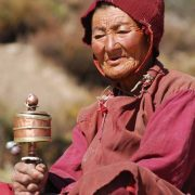 Nepalese Woman, Namche to Lukla, Everest Base Camp Trek