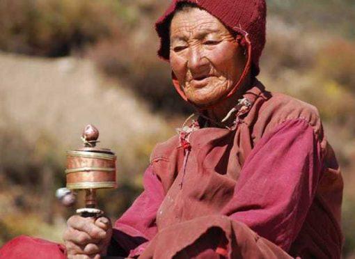 Nepalese Woman, Namche to Lukla, Everest Base Camp Trek
