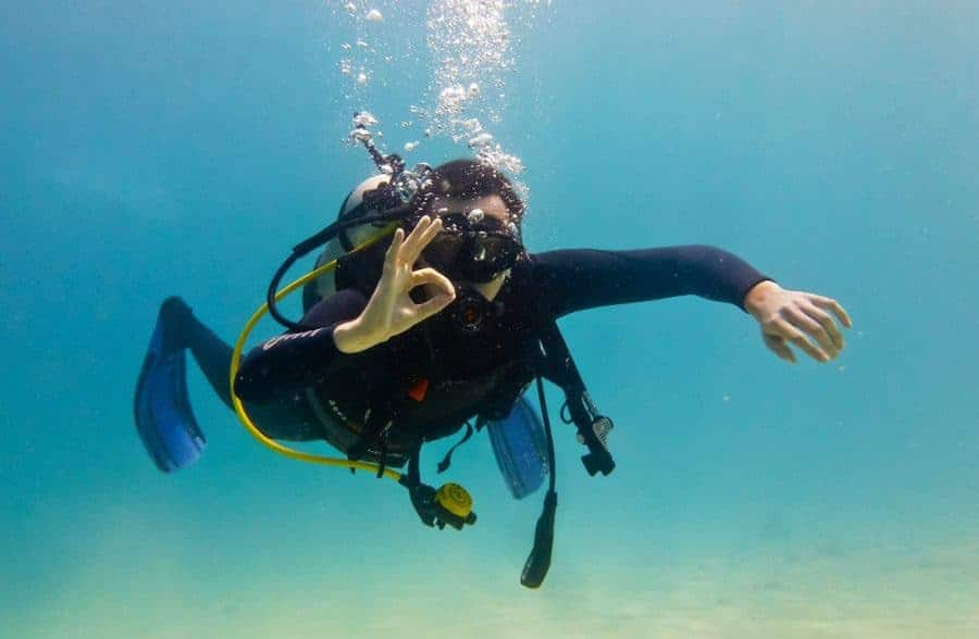 Learn to scuba dive,Vietnam, Nha Trang