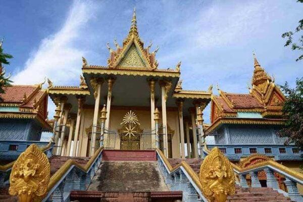 Buddhist Pagoda Battambang
