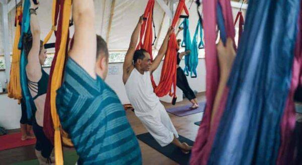 Serenity Eco retreat acro yoga