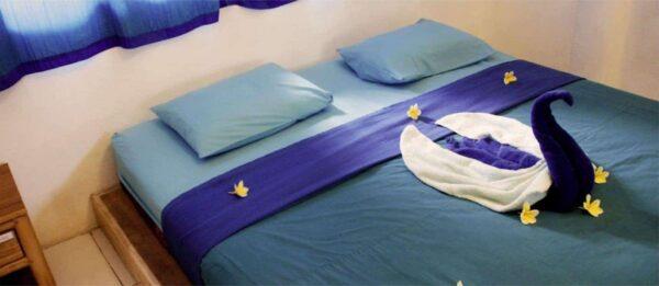 Serenity Eco retreat room