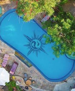 Serenity Eco retreat swimming pool