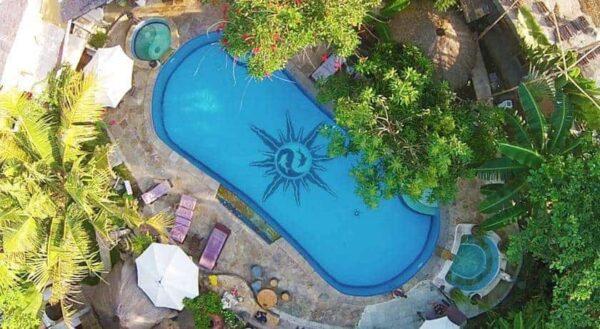 Serenity Eco retreat swimming pool