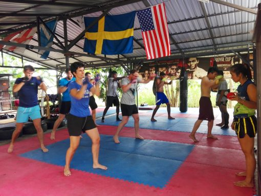 Sitjemam Muay Thai Training