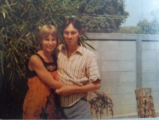 Sue and Ian in Chiang Mai, Thailand 1979