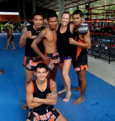 Tiger Muay Thai trainers, Thailand