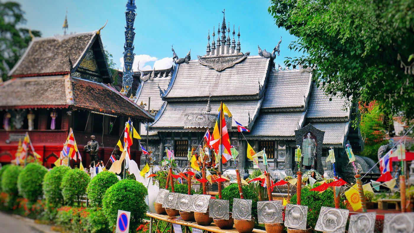 Wat Sri Suphan, Chiang Mai, Thailand