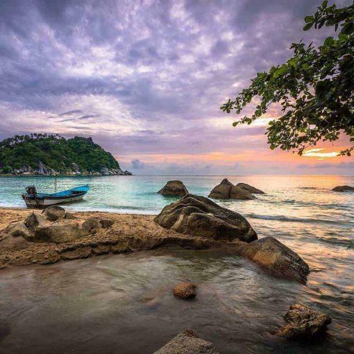 Beautiful sky, Had Thien Beach, Koh Phangan