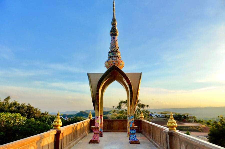 Panoramic Vistas at Wat Phra Sorn Kaew