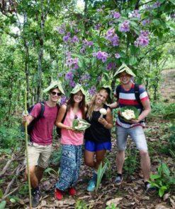 Trekking in Pai, Northern Thailand.