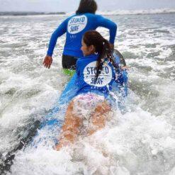 Surfing in Bali.