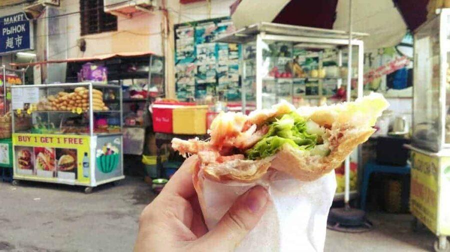 Banh mi, Vietnamese street food.