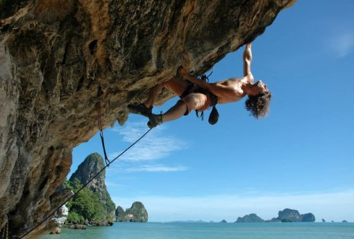 Climbing in Railay, Krabi