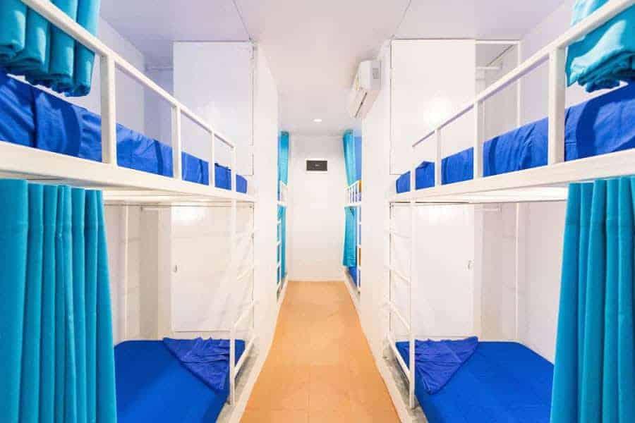 Dorm rooms at Shiralea Backpackers Resort.