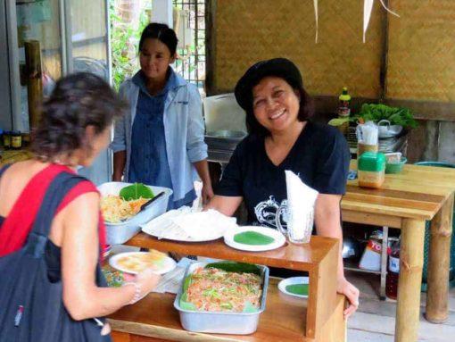Fresh food at Pranayama, Koh Phangan