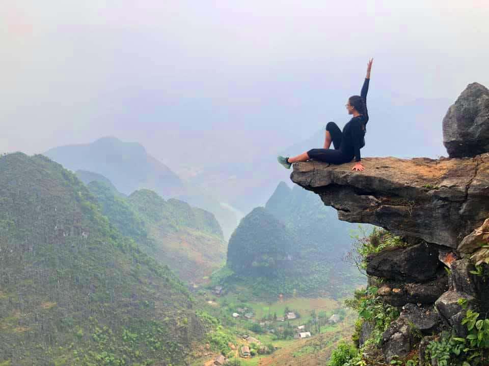 Viewpoint along the Ha Giang Loop, Vietnam. Photo by Erika Eskenazi.