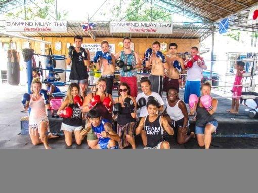 Muay Thai Boxing, Koh Phangan, Thailand.