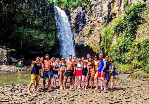 Waterfall in Bali, Indonesia.