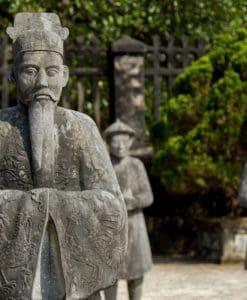 Khai Dinh Tomb, Hue, Vietnam.