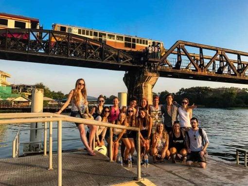 Kanchanaburi Bridge, Thailand