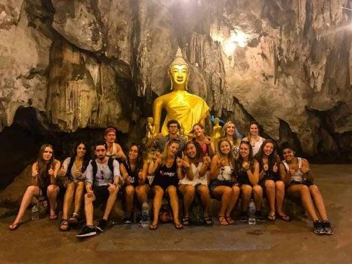 Cave Temple, Kanchanaburi, Thailand.