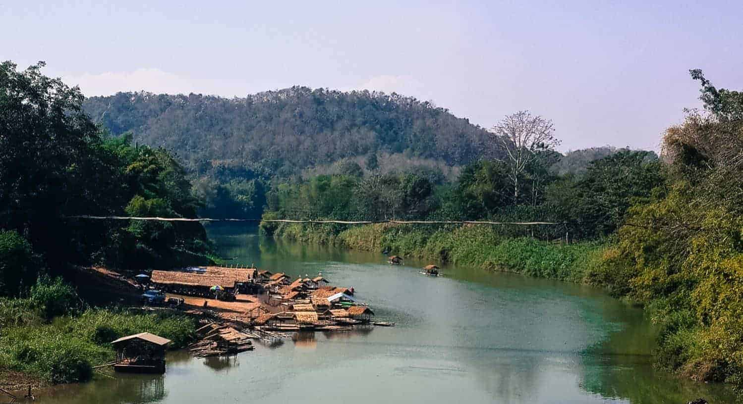 Lunch on the Nan River, Northern Thailand