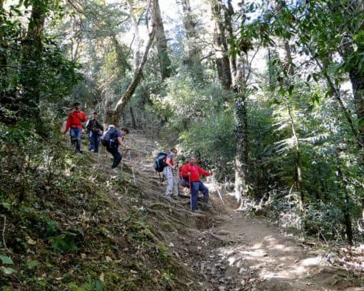 Nagarkot Trek in Nepal.