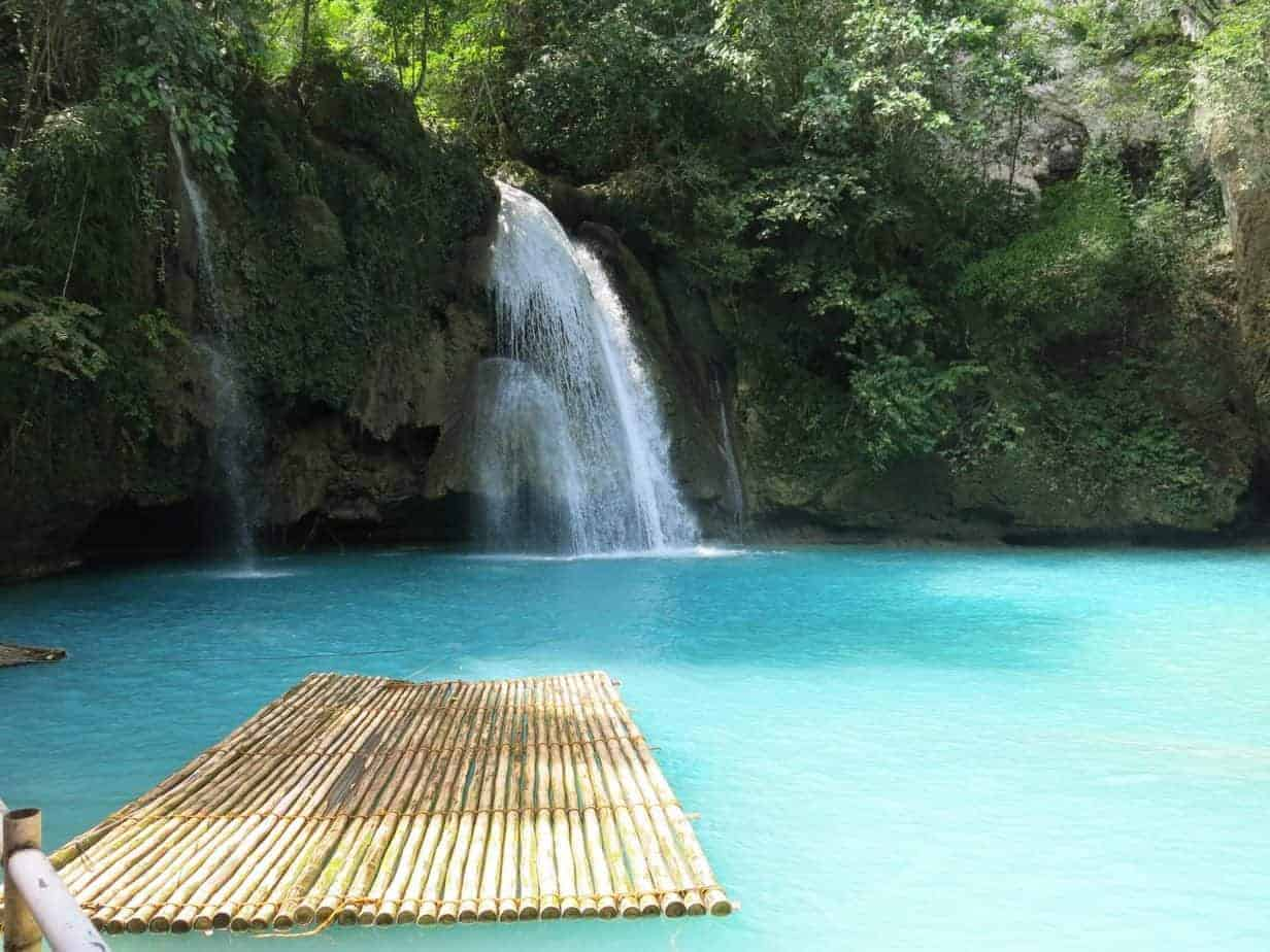 Waterfall, Moalboal, Philippines