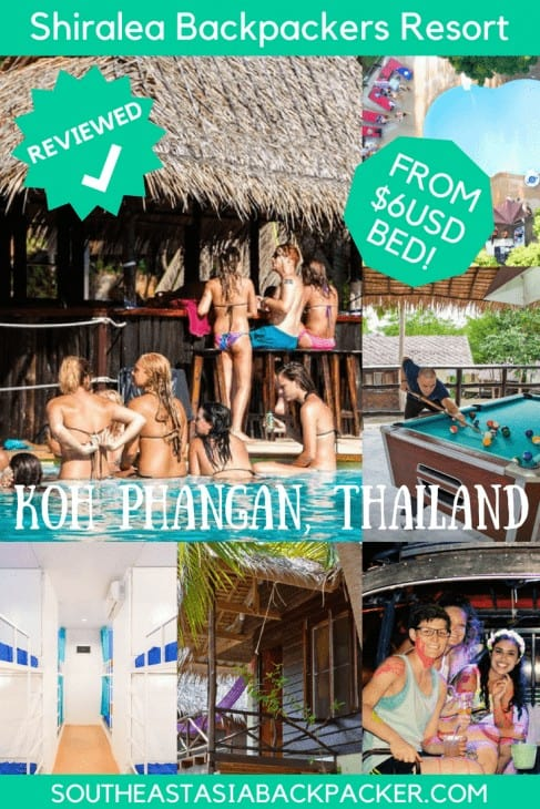 Shiralea Backpackers Resort, Koh Phangan, Thailand