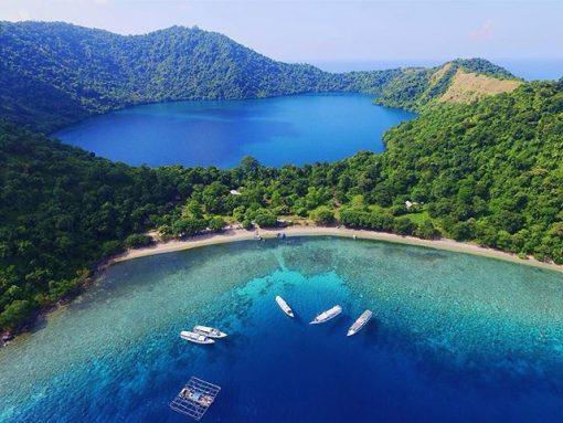 Satonda Island, Sumbawa, Indonesia.