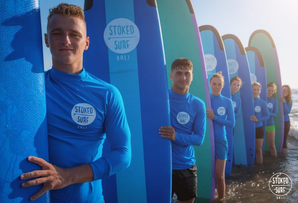 Stoked Surf School -Group Photo!