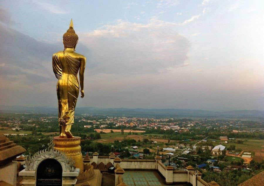 Sunrise from Wat Khao Noi, Nan.