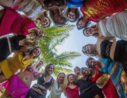 Women on the Tantric Yoga Therapy Retreat, Koh Phangan