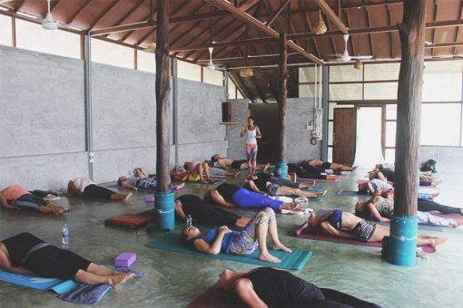 Yoga Class in Koh Phangan