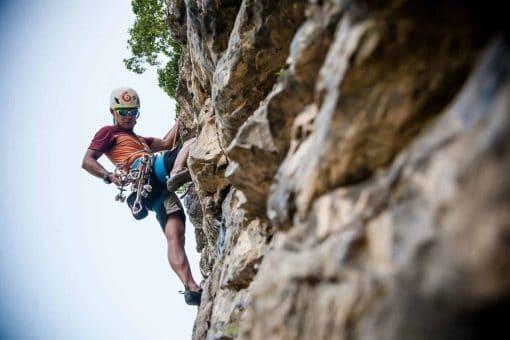 Rock Climbing in Krabi, Thailand