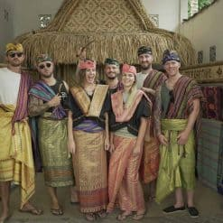 Dressing up at a Sassak village, Indonesia