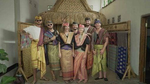 Dressing up at a Sassak village, Indonesia