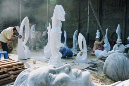 Marble Mountain Sculpture Village, Da Nang.