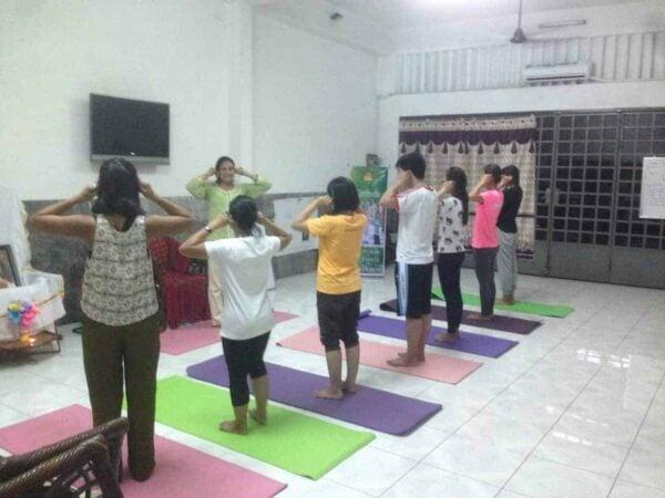 The Art of Living Meditation & Yoga Retreat.
