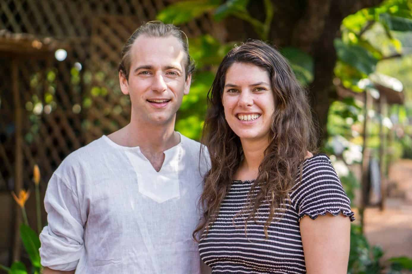 Paul and Merel, Meditation Teacher Trainers at the Institute of Meditation